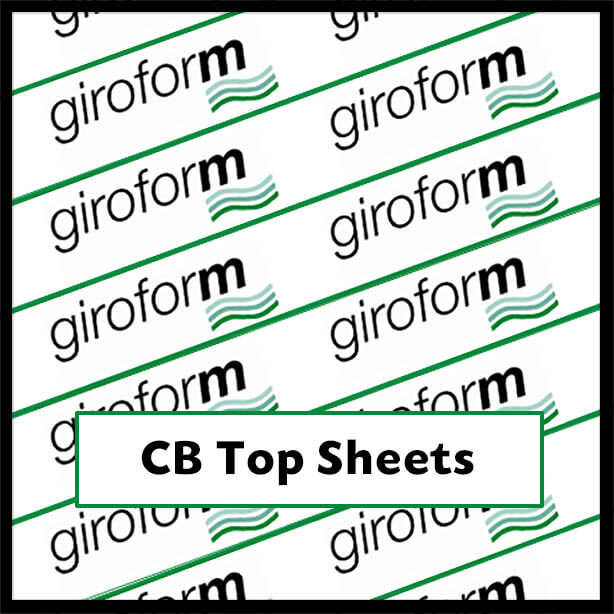 GiroCBTop - Giroform CB Top Sheets