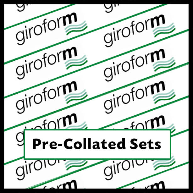 GiroPrecollated - Giroform Pre-Collated Sets