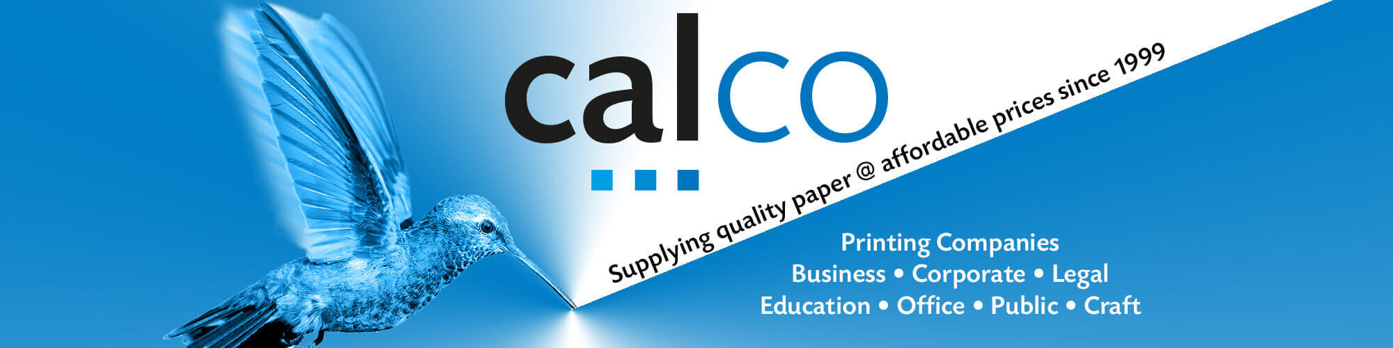 Calco paper - Yorkshire to Cornwall