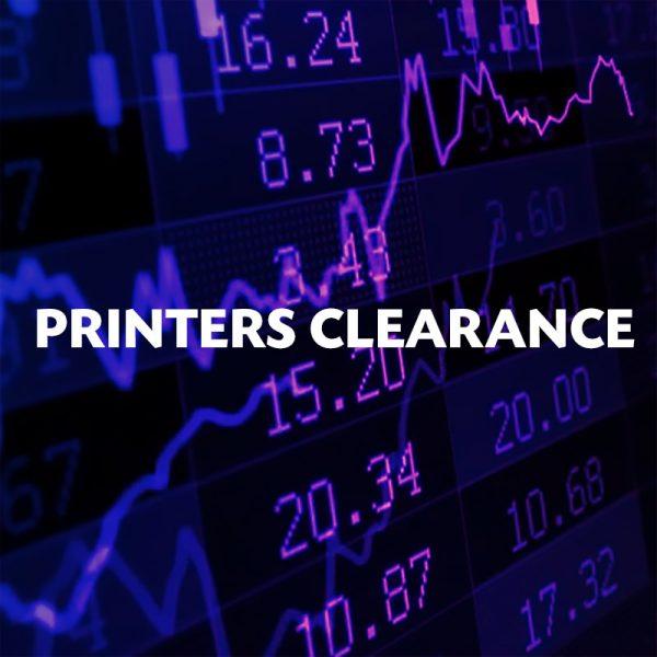 Printers Clearance