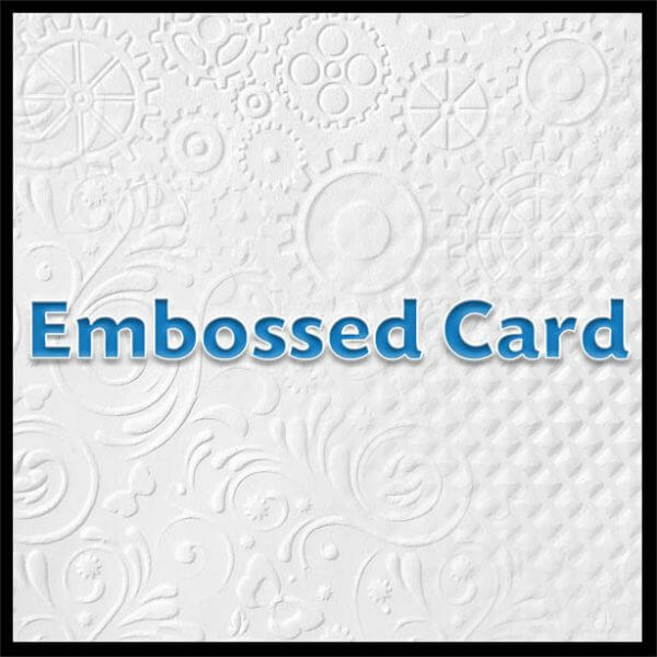embossedheader 600x600 - Embossed Card - A4 - 220gsm