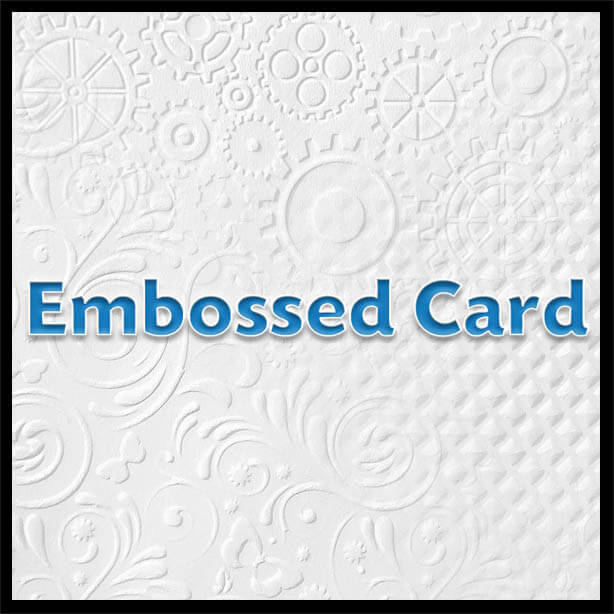 embossedheader - Embossed Card - A4 - 220gsm