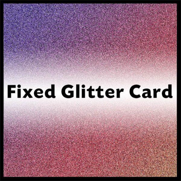 fixedglitterheader2 600x600 - Fixed Glitter Card - A4 - 220gsm