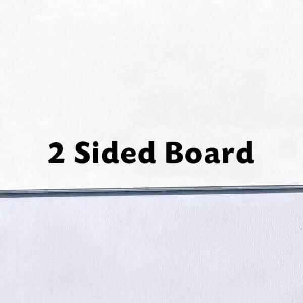 2 Sided Board