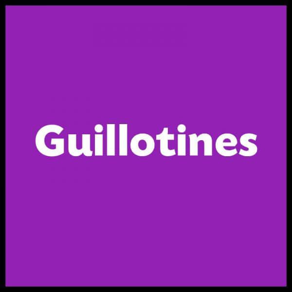 GuillHeader 600x600 - Guillotines