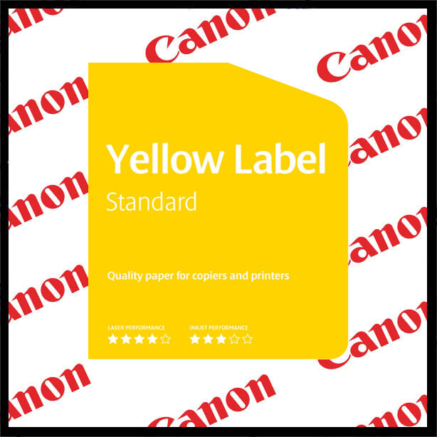 Canonyellowlabel2 - Canon Yellow Label 80gsm