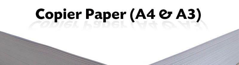 Copier Paper (A4 & A3)