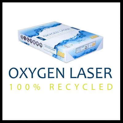 Oxygen Laser 400x400 - Oxygen Laser 100% Recycled 80gsm
