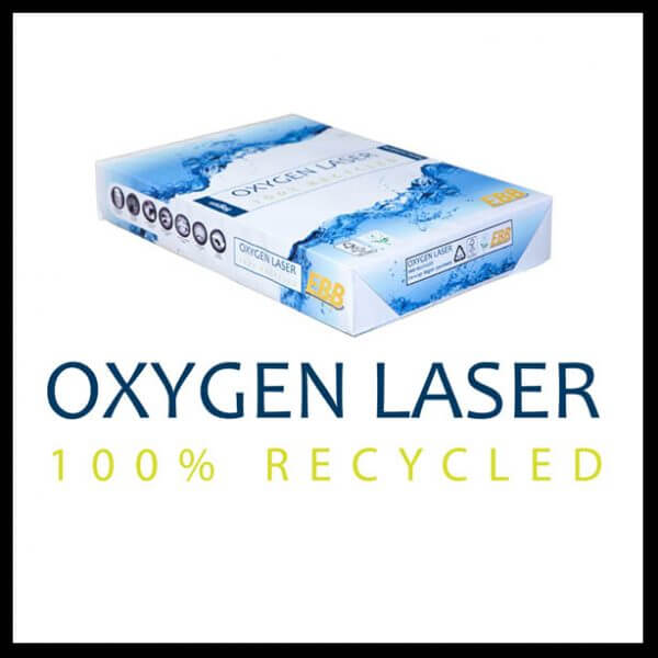 Oxygen Laser 600x600 - Oxygen Laser 100% Recycled 80gsm