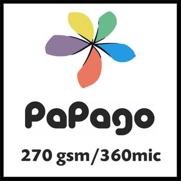 pap270gsm 600x600 - Papago 270gsm/360mic
