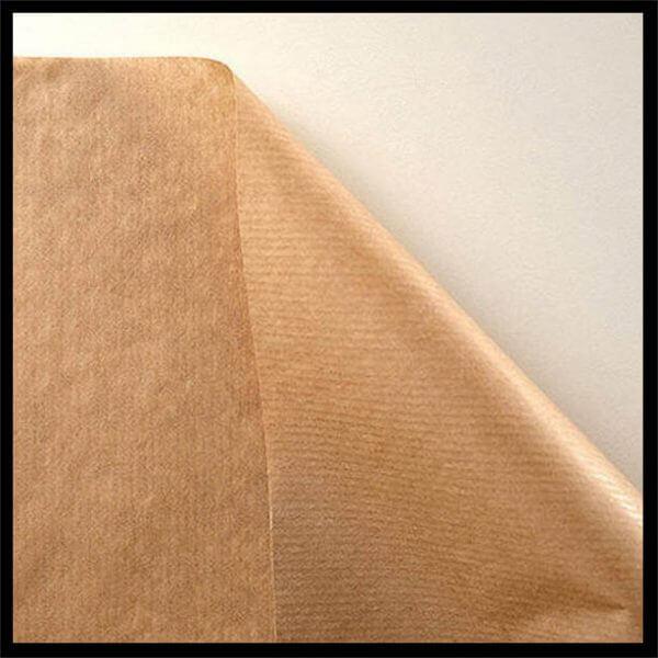 Kraft Paper 600x600 - Pure Ribbed Kraft Paper 90gm