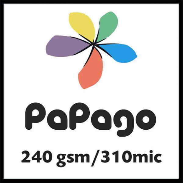 Pap240gsm 600x600 - Papago 240gsm/310mic