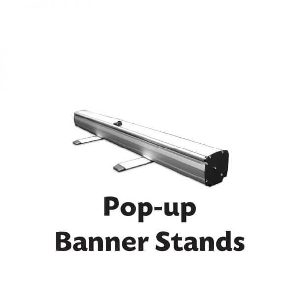 Pop Up Banner Stands