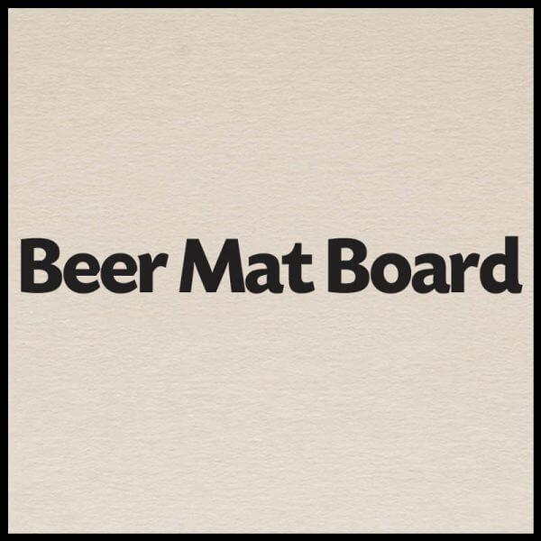 Beermat  600x600 - Beer Mat Board - 480gsm/1150mic